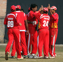 Saad Janjua took out Nepal's openers early, Nepal v Singapore, ICC World Cricket League Division Five, Lalitpur, February 21, 2010