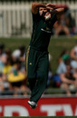 Shelley Nitschke led the bowling with 2 for 14, Australia v New Zealand, 1st women's T20, Hobart, 21 February, 2010