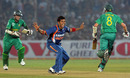 Sreesanth appeals unsuccessfully against Wayne Parnell, India v South Africa, 1st ODI, Jaipur, February 21, 2010