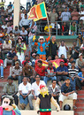 Fans flock the De Zoysa Stadium in Moratuwa for the tournament final, Kandurata v Ruhuna, final, SLC Inter-Provincial Limited Over Tournament, Moratuwa, February 21, 2010