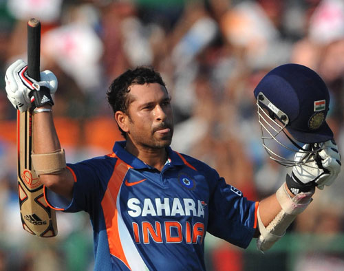Sachin Tendulkar brings up yet another hundred