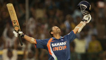 Sachin Tendulkar savours reaching his double century