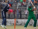 Tanveer Haidar cuts off the back foot, BCB XI v England XI, 2nd warm-up, Fatullah, February 25, 2009