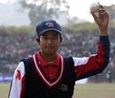 Rahul Vishwakarma took 7 for 15, Nepal v USA, ICC World Cricket League Division 5 final, February 27, 2010