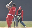 Munish Arora is bowled, Singapore v Bahrain, ICC World Cricket League Division 5, February 27, 2010