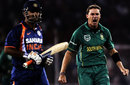 Dale Steyn got the key wicket of MS Dhoni