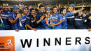 India celebrate their 2-1 series win, India v South Africa, 3rd ODI, Ahmedabad, February 27, 2010