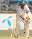 Mohammad Ashraful's torrid run continued when he played down the wrong line to Ajmal Shahzad, Bangladesh A v England XI, tour match, Chittagong, 3rd day, March 9, 2010
