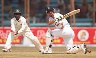 Kevin Pietersen showed a long-awaited return to form, Bangladesh v England, 1st Test, Chittagong, March 12, 2010