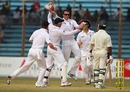Graeme Swann removed Aftab Ahmed in his first over, Bangladesh v England, 1st Test, Chittagong, March 13, 2010