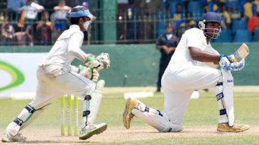 Ramith Rambukwella sweeps