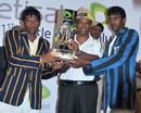 The two captains, Bhanuka Rajapaksa and Dinesh Walpita, share the trophy, Royal College v St. Thomas College, SSC, Colombo, March 11-13, 2010