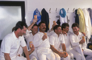 Allan Border led a young, inexperienced side to a 4-0 Ashes win in 1989