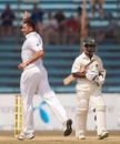 Tim Bresnan removed Aftab Ahmed during an impressive spell, Bangladesh v England, 1st Test, Chittagong, March 15, 2010