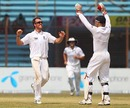 Graeme Swann celebrates another wicket with Matt Prior, Bangladesh v England, 1st Test, Chittagong, March 16, 2010