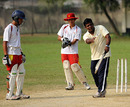 Aminul Islam teaches China's Under-19 cricket squad at Bangladesh's academy,