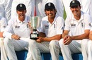 Alastair Cook savours a series victory, Bangladesh v England, 2nd Test, Dhaka, 5th day, March 24, 2010