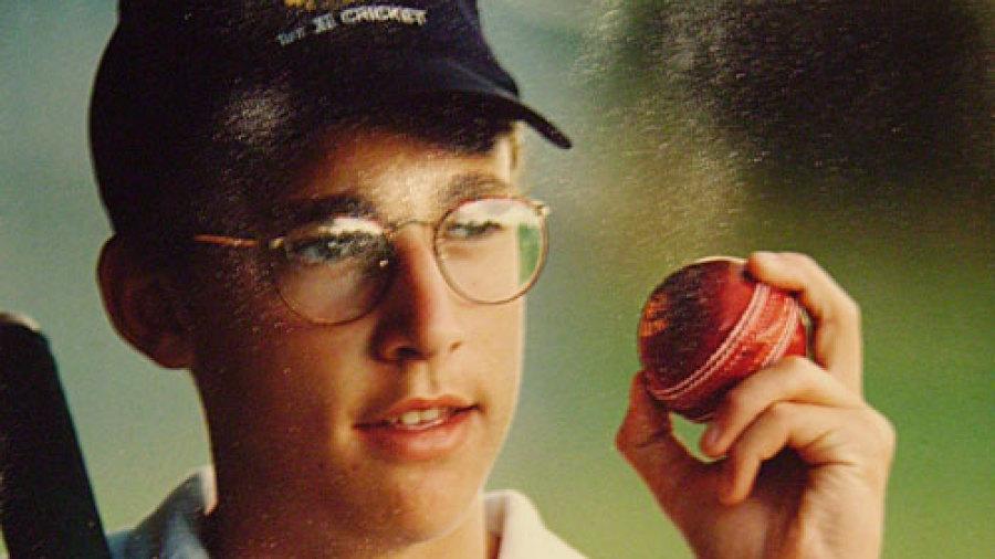 A young Daniel Vettori