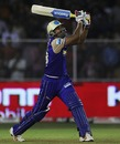 Yusuf Pathan launches one of eight sixes, Rajasthan Royals v Deccan Chargers, IPL, March 26, 2010