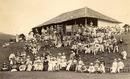 Lord Hawke's XI pose ahead of a match in Ceylon against an All_Ceylon XI, Radella, November 18, 1892