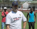 Heath Streak, Zimbabwe's bowling coach, at one of ZC's fast-bowling trials, March 30, 2010