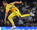 Doug Bollinger had an outstanding IPL debut, Chennai Super Kings v Rajasthan Royals, IPL, Chennai, April 3, 2010