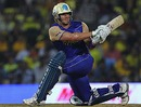 Shane Watson plays the sweep, Chennai Super Kings v Rajasthan Royals, IPL, Chennai, April 3, 2010