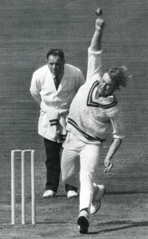 mike procter in full flow cricket photo espn cric