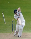 Joe Denly didn't last long against Ryan Sidebottom