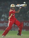 Manish Pandey steers the ball towards point, Rajasthan Royals v Royal Challengers Bangalore, IPL, Jaipur, April 14, 2010