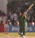 Inzamam-ul-Haq on his way to an unbeaten 53