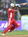 Rahul Dravid plays the ball elegantly towards point, Deccan Chargers v Royal Challengers Bangalore, IPL, Mumbai, April 24, 2010