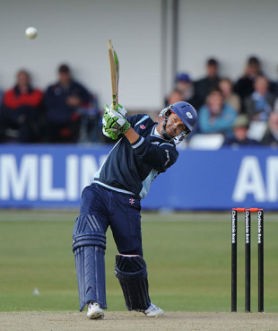Jacques Rudolph reached his hundred off 98 balls as Yorkshire cruised to a stunning victory, Essex v Yorkshire, Clydesdale Bank 40, Group B, Chelmsford, April 25, 2010