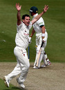 Jim Allenby the fall of Ben Smith as Worcestershire's top order crumbled, Worcestershire v Glamorgan, County Championship, Division Two, New Road, April 27, 2010