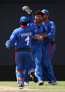Dawlat Ahmadzai claimed 4 for 15 in his four overs, Ireland v Afghanistan, World Twenty20 warm-up, Providence, April 28, 2010