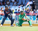 AB de Villiers attempts the lap shot, India v South Africa, World Twenty20, Gros Islet, May 2, 2010