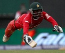 Tatenda Taibu dives to make his ground, Sri Lanka v Zimbabwe, ICC World Twenty20, Guyana, May 3, 2010