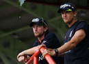 Andy Flower and Paul Collingwood were left frustrated as the Duckworth/Lewis calculation left West Indies with an easy target, West Indies v England, World Twenty20, Guyana, May 3, 2010