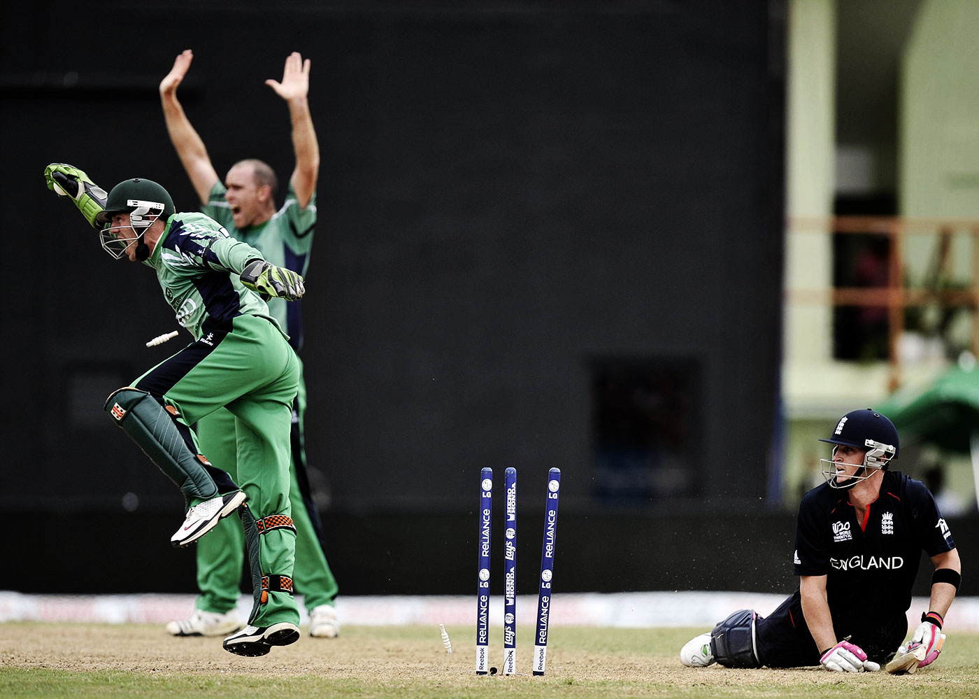 Craig Kieswetter, one of England's top scorers in the 2010 World T20, was run out for 13 in their match against Ireland