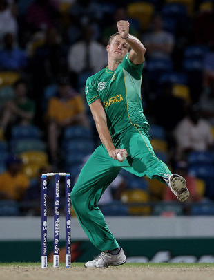 Morne Morkel was too hostile for Afghanistan's batsmen, Afghanistan v South Africa, ICC World Twenty20, Bridgetown, May 5, 2010