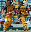 David Hussey and David Warner added 38 in quick time