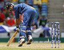 Yuvraj Singh's in a tangle as he loses his off bail to Dirk Nannes