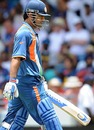 MS Dhoni holed out in search of quick runs