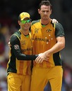 Shaun Tait picked up three wickets, Australia v India, Super Eights, ICC World Twenty20, Bridgetown, May 7, 2010