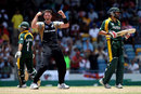Ian Butler grabbed three for 19 in New Zealand's tense win, New Zealand v Pakistan, Super Eights, Group E, World Twenty20, Barbados, May 8, 2010