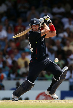Kevin Pietersen powered England's innings with a 33-ball 53, England v South Africa, World T20, Group E, Bridgetown, May 8, 2010