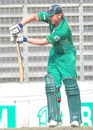 Stiaan van Zyl defends, Bangladesh A v South Africa A, Tri-series, 4th match, Mirpur, May 9, 2010