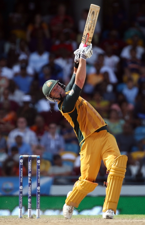 Cameron White slammed five sixes to power Australia's fightback