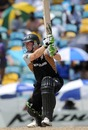 Scott Styris drives through the off side, New Zealand v Pakistan, Super Eights, Group E, World Twenty20, Barbados, May 8, 2010