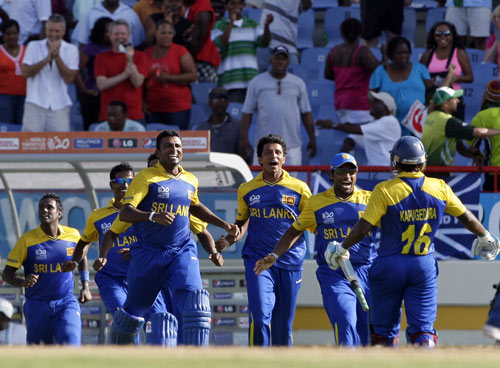 23rd Match, Group F: India v Sri Lanka at Gros Islet, May 11, 2010 ...